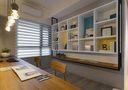 富裕型80平米混搭风格卧室橱柜设计图