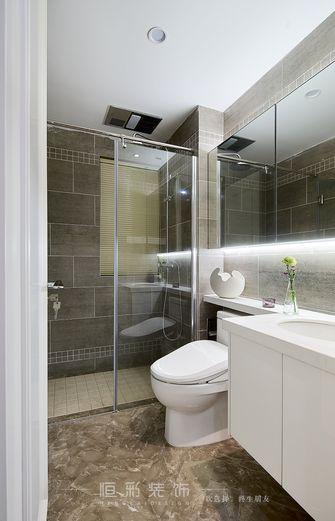 富裕型80平米三室两厅宜家风格卫生间图片