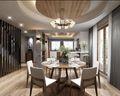20万以上140平米三室一厅混搭风格餐厅图片大全