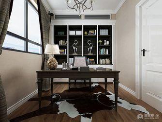 140平米三室两厅英伦风格书房装修案例
