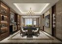 140平米四室三厅欧式风格餐厅图片大全