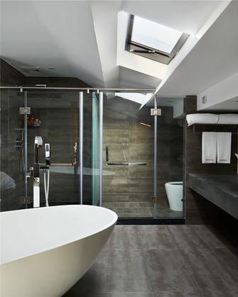 120平米三室一厅田园风格卫生间图片