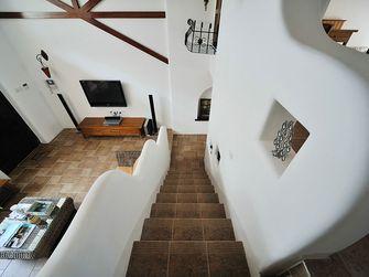 120平米复式东南亚风格楼梯间图片大全
