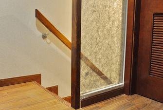 40平米小户型现代简约风格楼梯间图