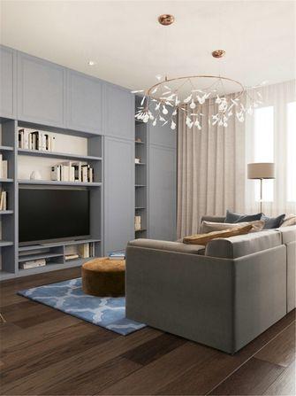 80平米一室一厅新古典风格客厅装修图片大全