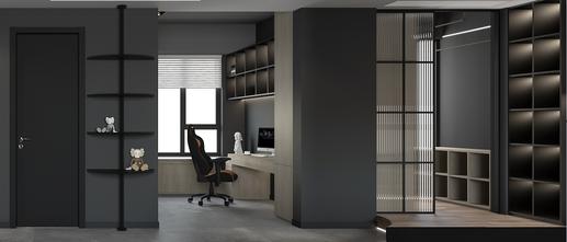 豪华型80平米公寓现代简约风格书房图