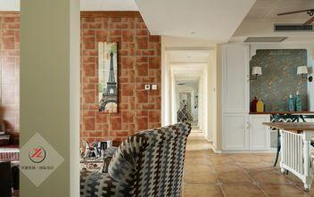 130平米三室两厅地中海风格走廊图片