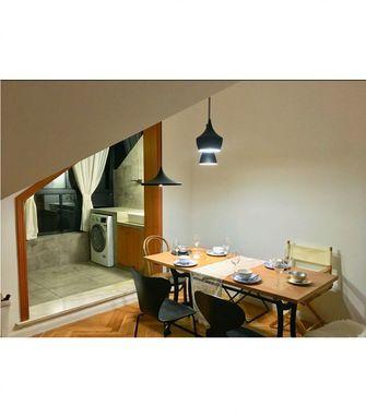 130平米复式欧式风格餐厅装修图片大全