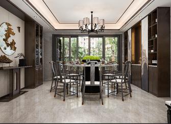 140平米四室四厅中式风格餐厅设计图