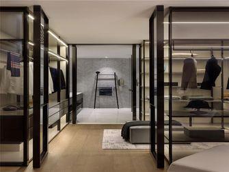130平米三室一厅现代简约风格衣帽间欣赏图