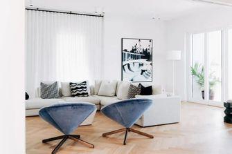 140平米三混搭风格客厅装修图片大全