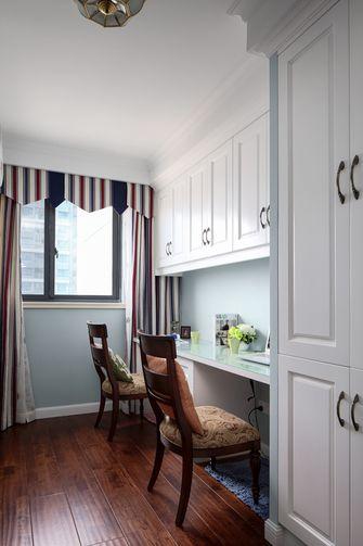 140平米四室一厅美式风格书房欣赏图