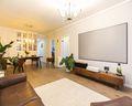 60平米一室一厅日式风格客厅图