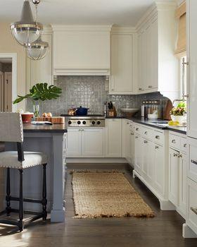 100平米歐式風格廚房設計圖