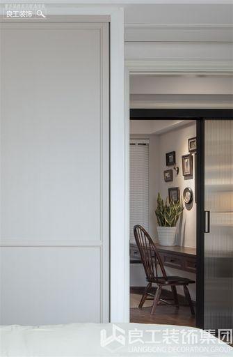 80平米三室一厅美式风格书房欣赏图