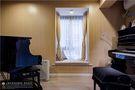70平米三室一厅混搭风格影音室设计图