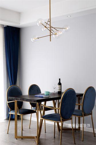 100平米四北欧风格餐厅图片