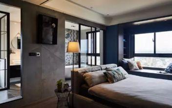 90平米一居室现代简约风格卧室效果图