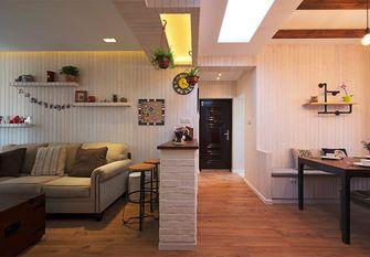50平米公寓地中海风格走廊欣赏图