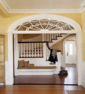 110平米法式风格楼梯间效果图