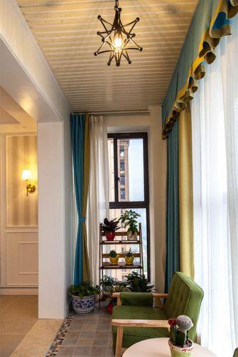 120平米四室两厅现代简约风格阳台欣赏图