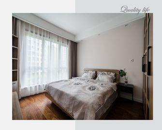 130平米三室两厅北欧风格卧室效果图