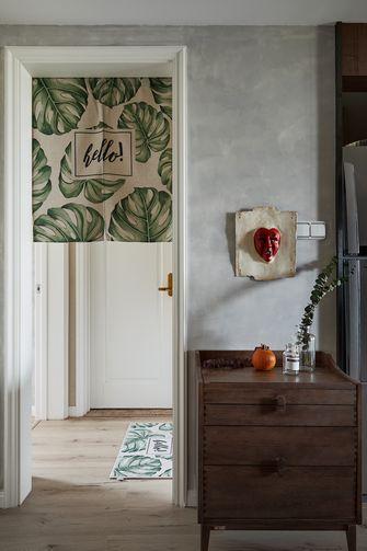 90平米三室一厅英伦风格走廊图