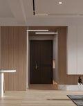 100平米三室两厅现代简约风格玄关欣赏图