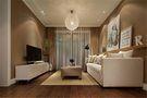 10-15万110平米三室五厅现代简约风格客厅图片