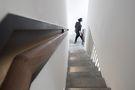 140平米别墅田园风格楼梯间装修效果图