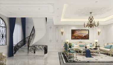 100平米三室一厅欧式风格楼梯间欣赏图