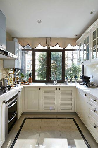 110平米三室四厅新古典风格厨房装修图片大全