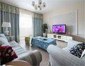 经济型90平米三室两厅美式风格客厅装修案例