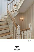 20万以上140平米四室一厅地中海风格楼梯图