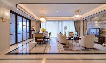 130平米四室两厅混搭风格客厅装修案例