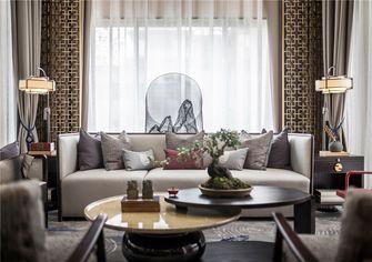 110平米三室两厅中式风格客厅装修案例
