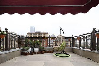 豪华型140平米别墅美式风格阳台效果图