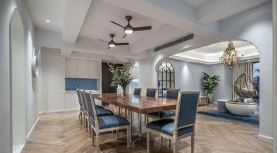 140平米四室两厅地中海风格餐厅装修案例