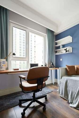 110平米三室一厅混搭风格书房装修图片大全