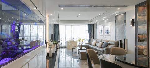 140平米三室两厅新古典风格客厅欣赏图