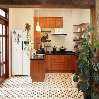 120平米复式田园风格厨房图片