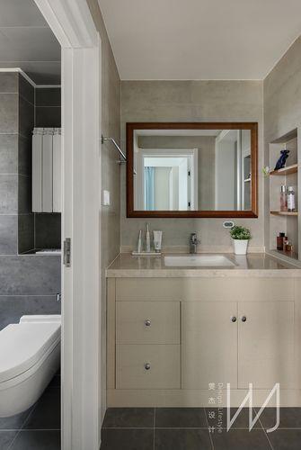 110平米三室两厅宜家风格卫生间欣赏图