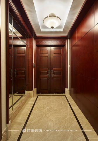 140平米复式中式风格玄关图