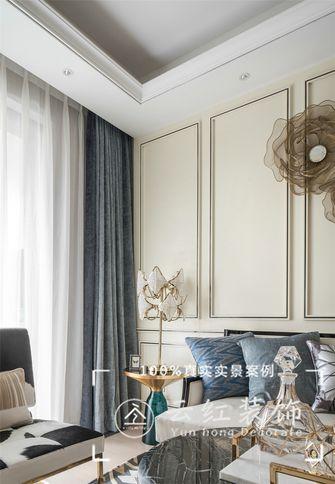 140平米复式现代简约风格阳台装修图片大全