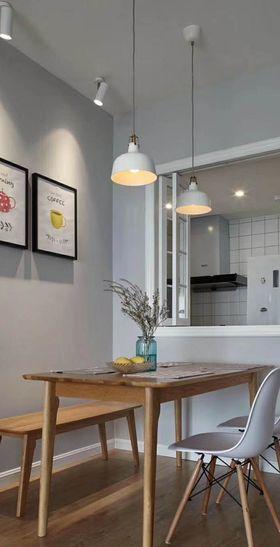 110平米三室兩廳混搭風格餐廳裝修案例