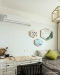 100平米三地中海风格卧室图片大全