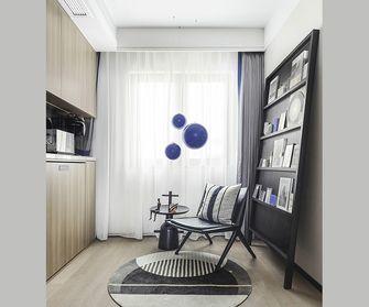 90平米三室一厅中式风格阳光房设计图