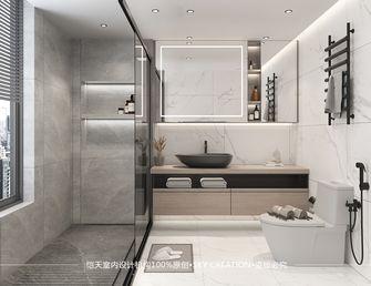 富裕型140平米四室一厅现代简约风格卫生间图