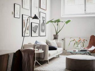 70平米复式北欧风格客厅设计图