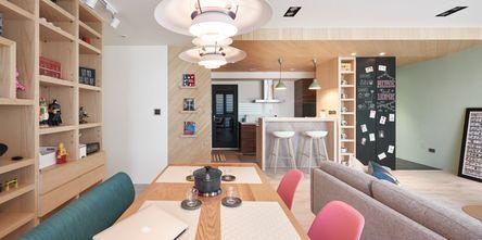 80平米公寓日式风格餐厅装修图片大全